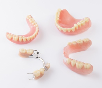 Parial and full dentures